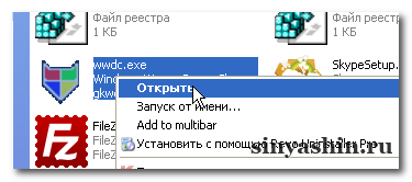 Открыть WWDC - Windows Worms Doors Cleaner